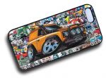 Koolart STICKERBOMB STYLE Design For Yellow Land Rover Defender 90 Hard Case Cover Fits Apple iPhone 4 & 4s